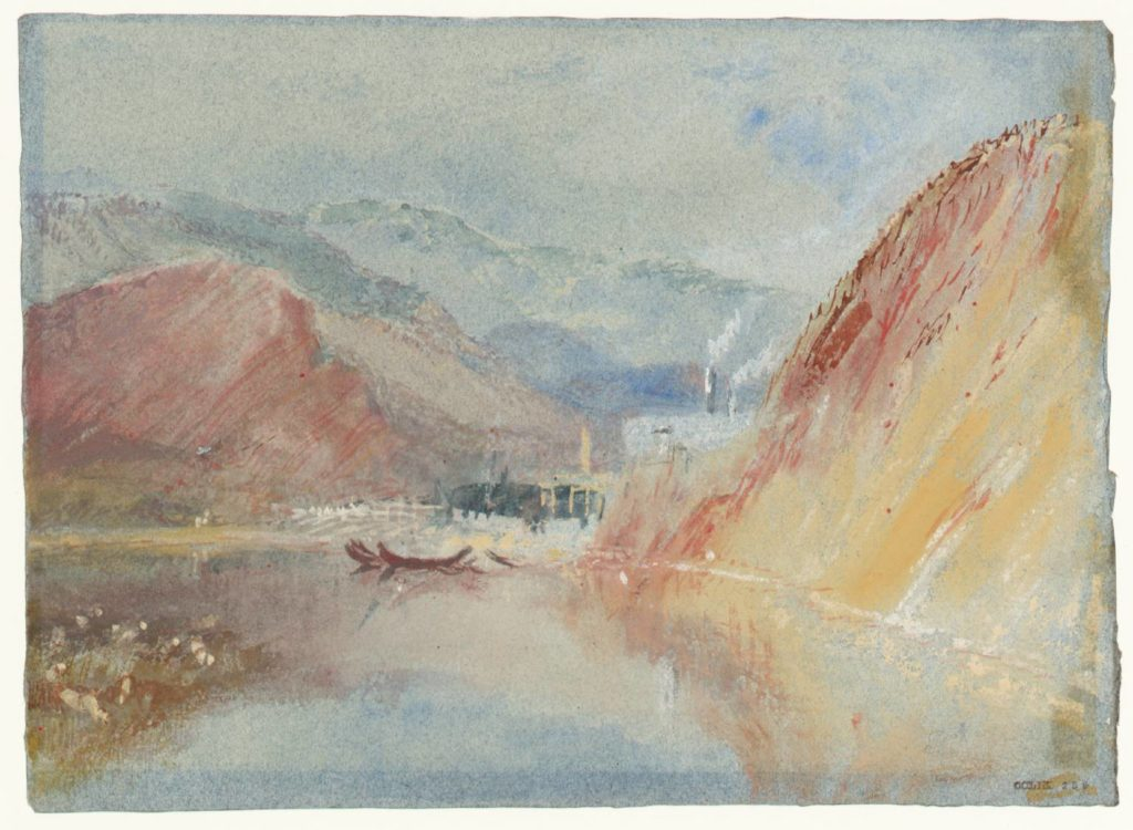 The Iron Forges of Quint circa 1839 Joseph Mallord William Turner 1775-1851 Accepted by the nation as part of the Turner Bequest 1856 http://www.tate.org.uk/art/work/D24823