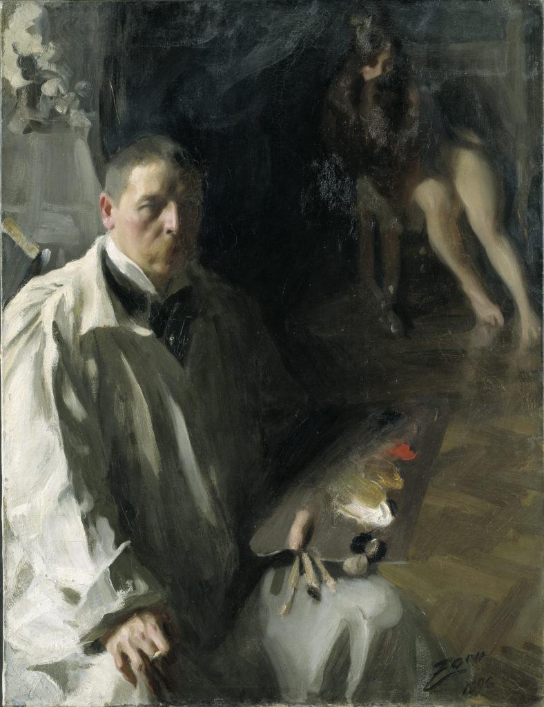 Anders Zorn: Självporträtt. NM 1510