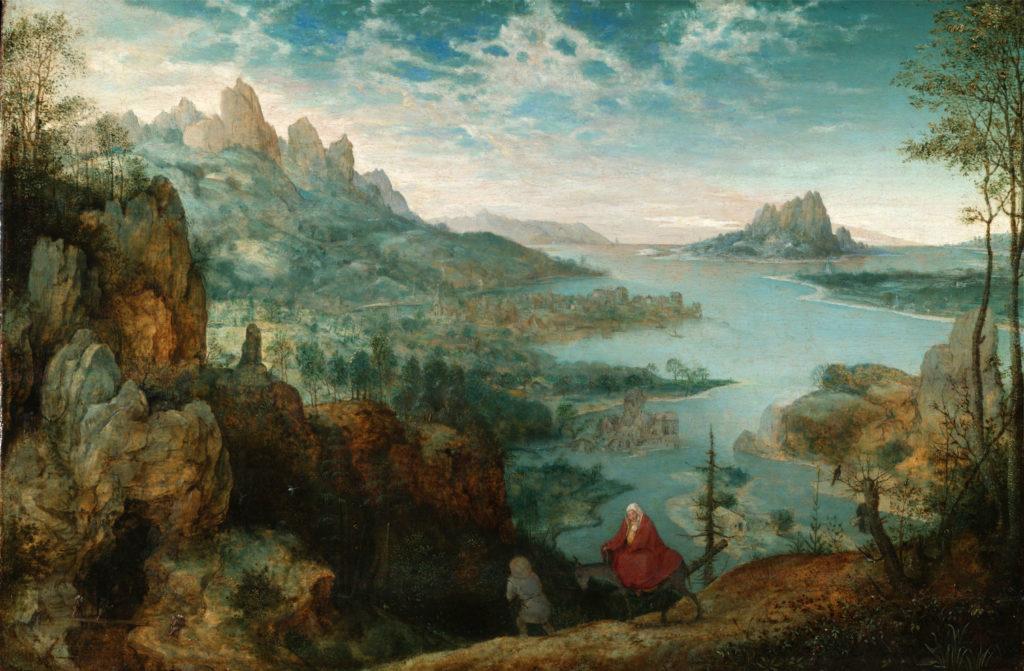 Pieter Bruegel the Elder, Landscape with the Flight into Egypt, 1563
