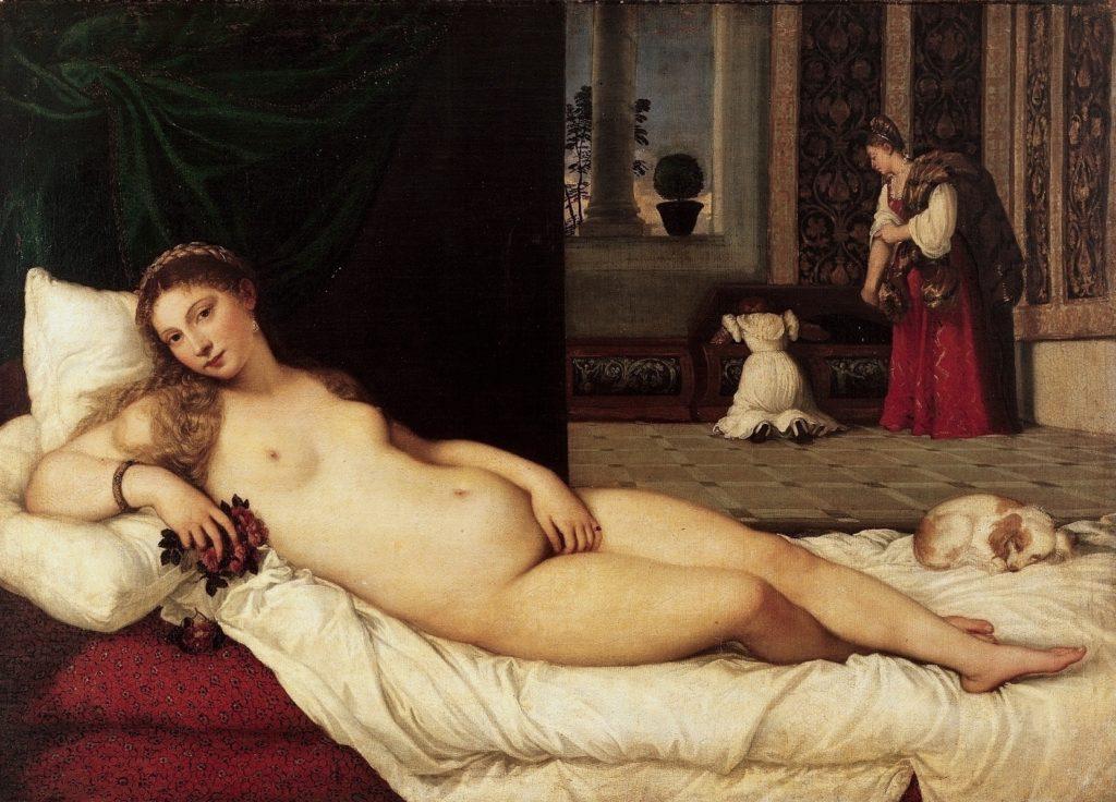 Titian's reclining Venus (1538)