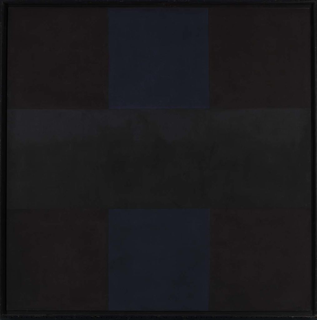Ad Reinhardt: Abstract Painting no. 4, 1961