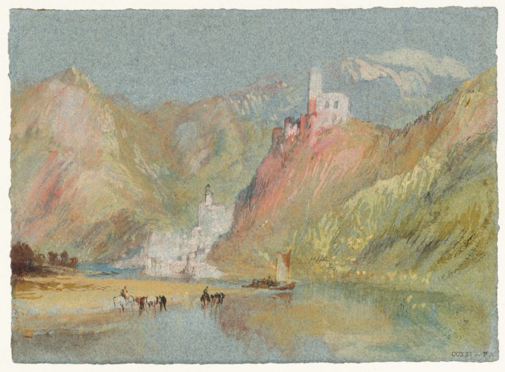 Beilstein and Burg Metternich circa 1839 Joseph Mallord William Turner 1775-1851 Accepted by the nation as part of the Turner Bequest 1856 http://www.tate.org.uk/art/work/D20239