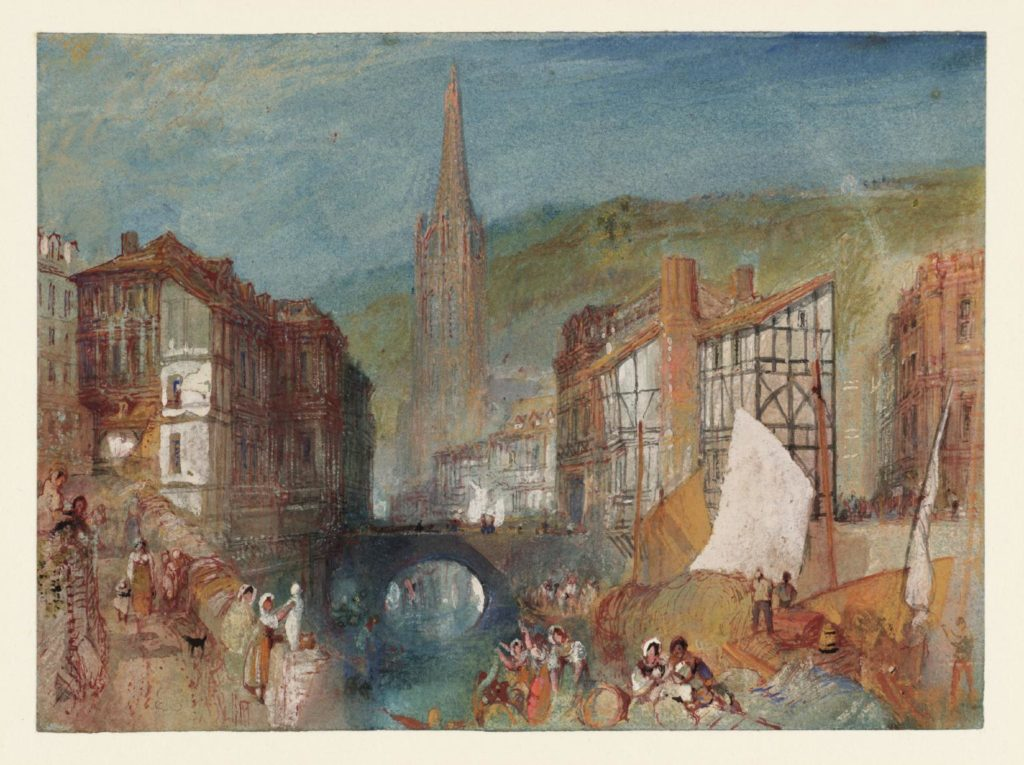 The Church of Saint-Martin at Harfleur, Normandy c.1832 Joseph Mallord William Turner 1775-1851 Accepted by the nation as part of the Turner Bequest 1856 http://www.tate.org.uk/art/work/D24651