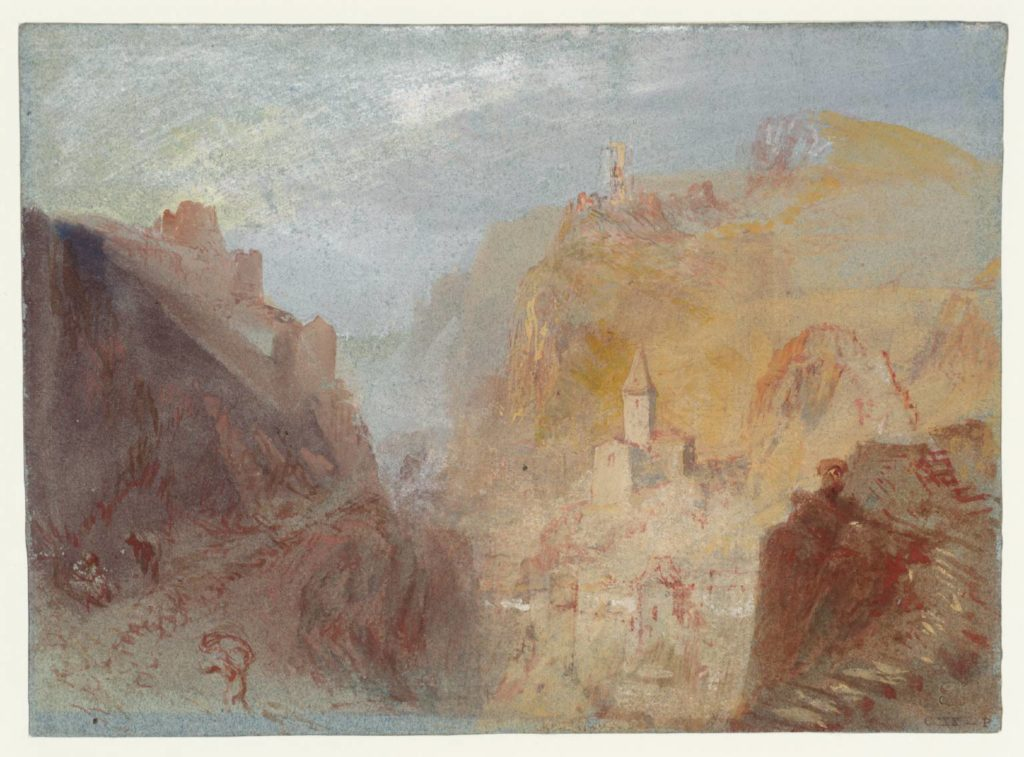 Trarbach from the South circa 1839 Joseph Mallord William Turner 1775-1851 Accepted by the nation as part of the Turner Bequest 1856 http://www.tate.org.uk/art/work/D20223