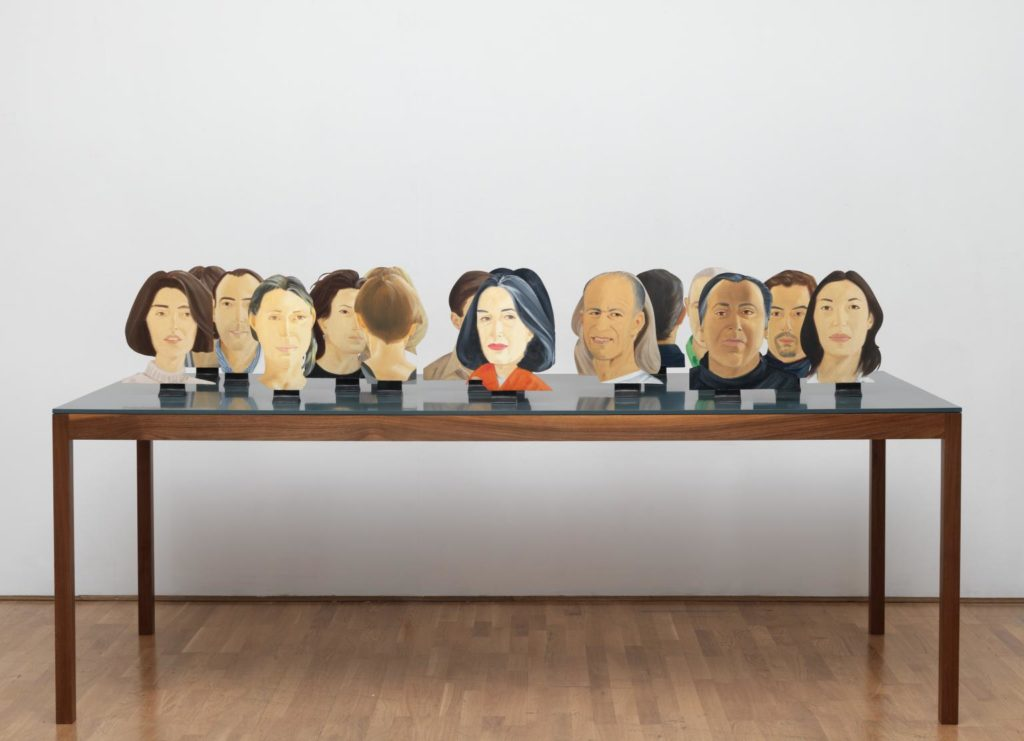 Green Table 1996 Alex Katz born 1927 ARTIST ROOMS Tate and National Galleries of Scotland. Lent by Anthony d'Offay 2010 http://www.tate.org.uk/art/work/AL00188